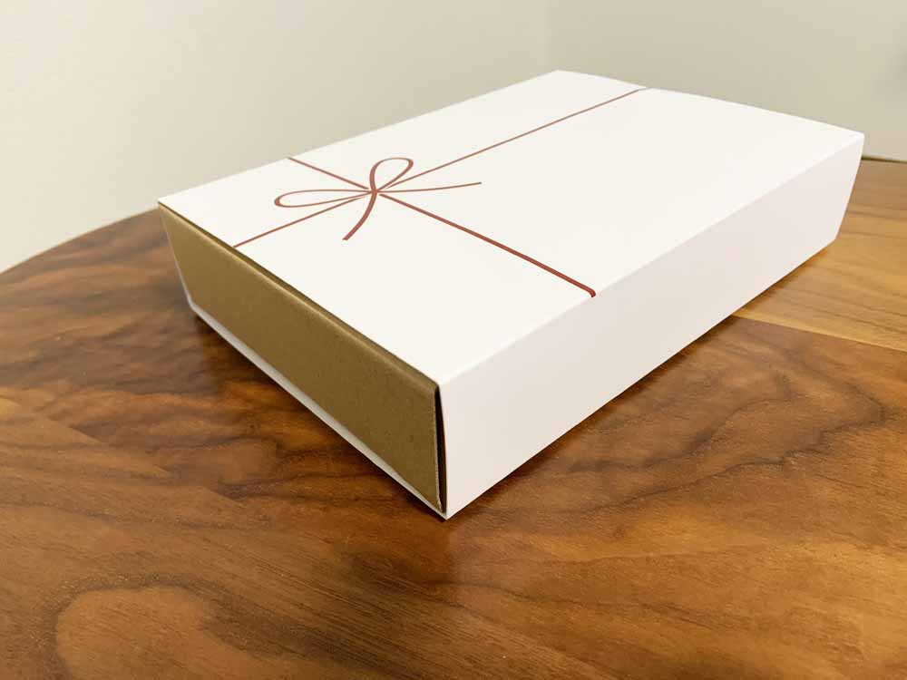 無印のバームクーヘンの箱のサイズ