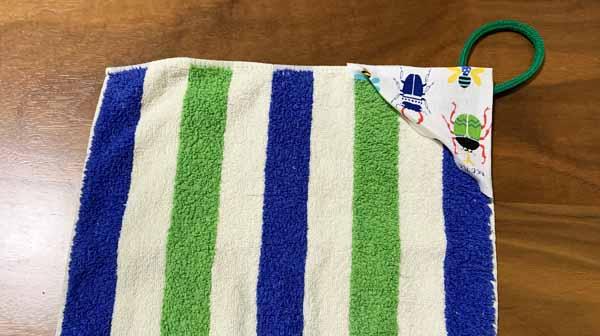 ループタオルの作り方は手縫いで簡単