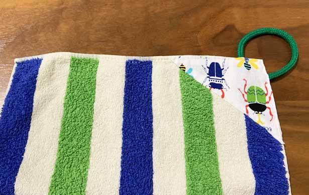 ループタオルの作り方手縫いで簡単